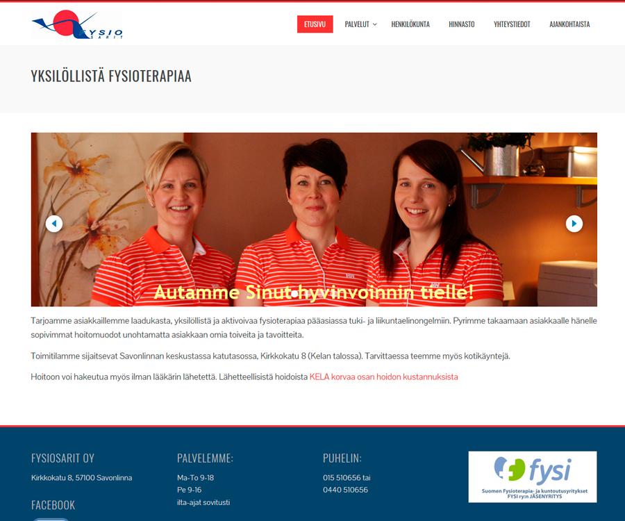 Fysiosarit.fi