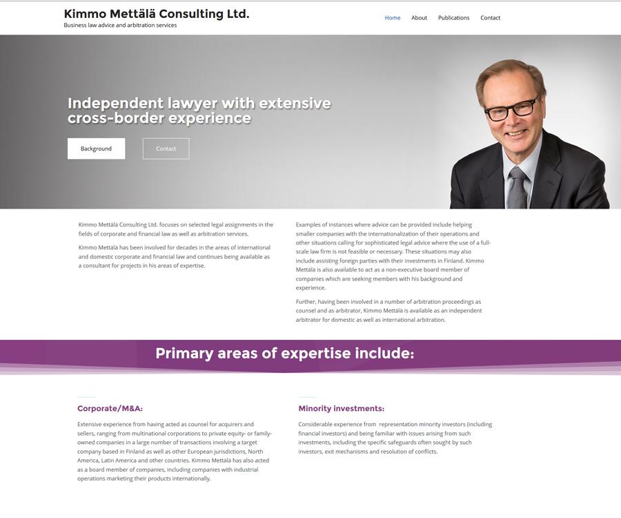 Kimmo Mettälä Consulting Ltd