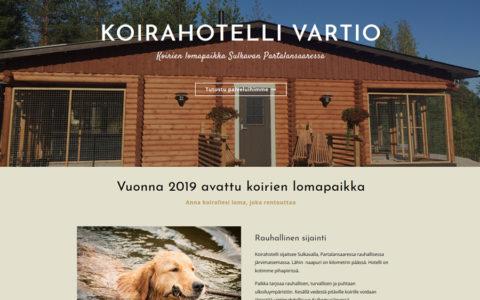 Koirahotelli Vartio